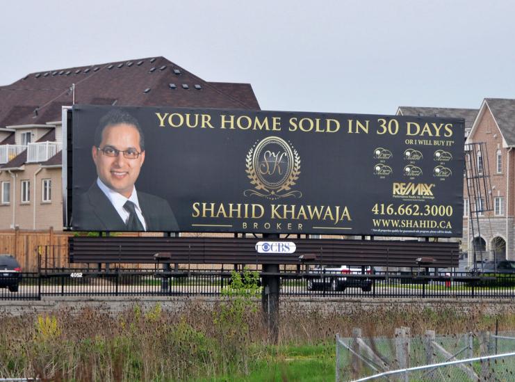 Hst Tax Calculator >> Marketing Billboards | Shahid Khawaja #1 GTA Real Estate ...